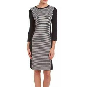 J. McLaughlin Striped Sweater Dress